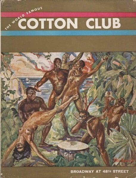 Menu Cotton Club