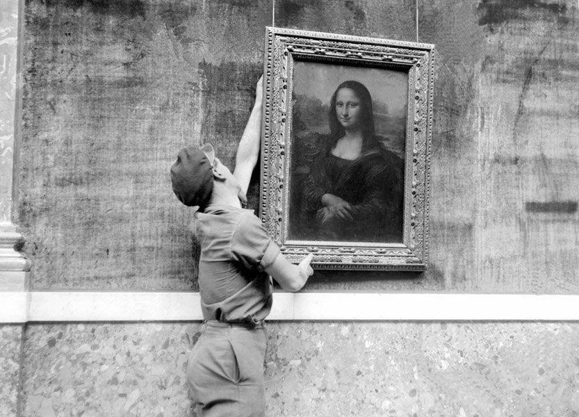 Mona Lisa During World War 2
