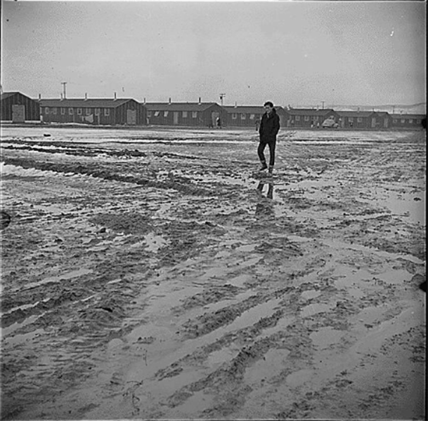 Mud Tule Lake Relocation Center