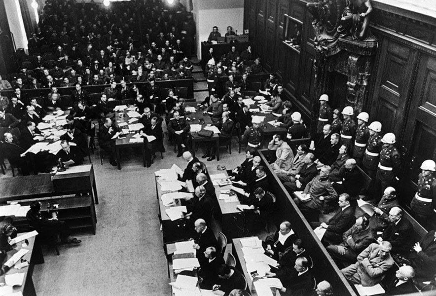 Nuremberg Trials Aerial