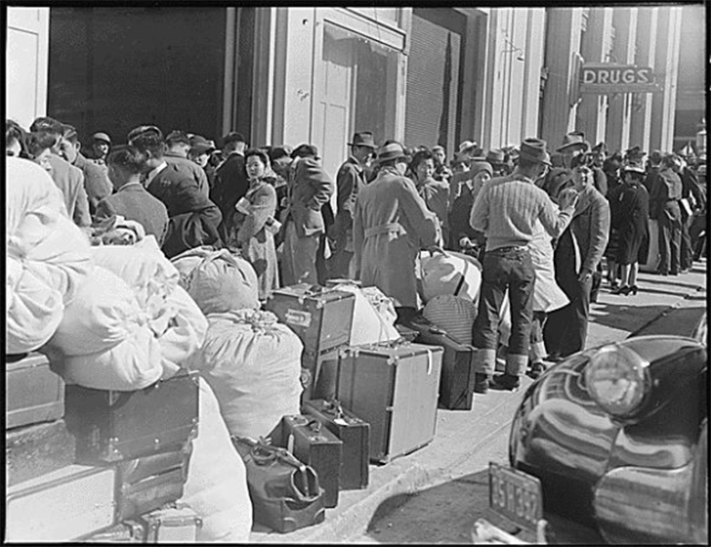 Packed Japanese Internment