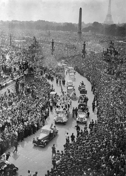 Paris Liberation Parade