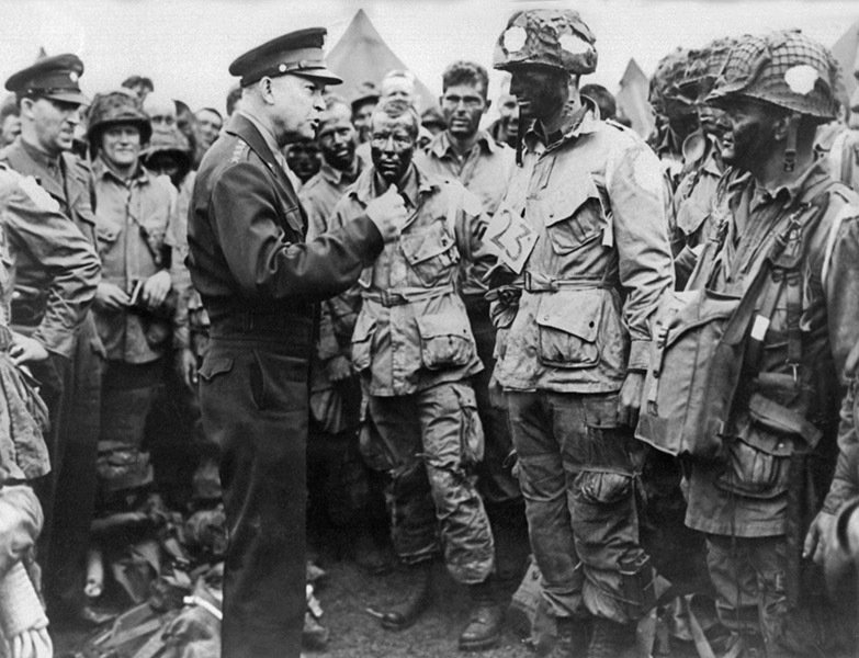 General Eisenhower After D-Day