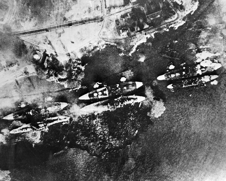 Pearl Harbor Aerial