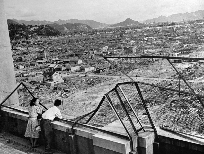 After The Hiroshima Atomic Bomb