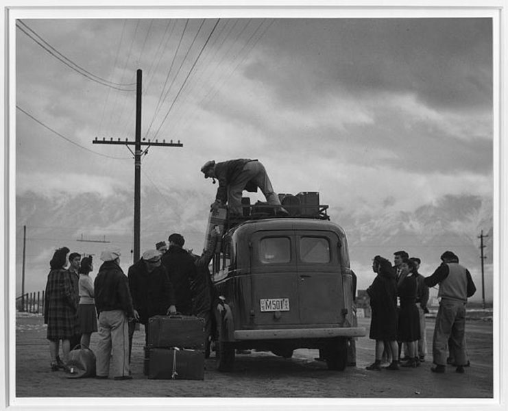 Relocation Bus Manzanar