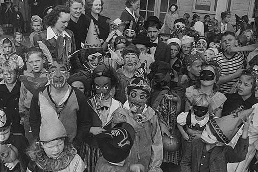 Seattle Halloween 1943
