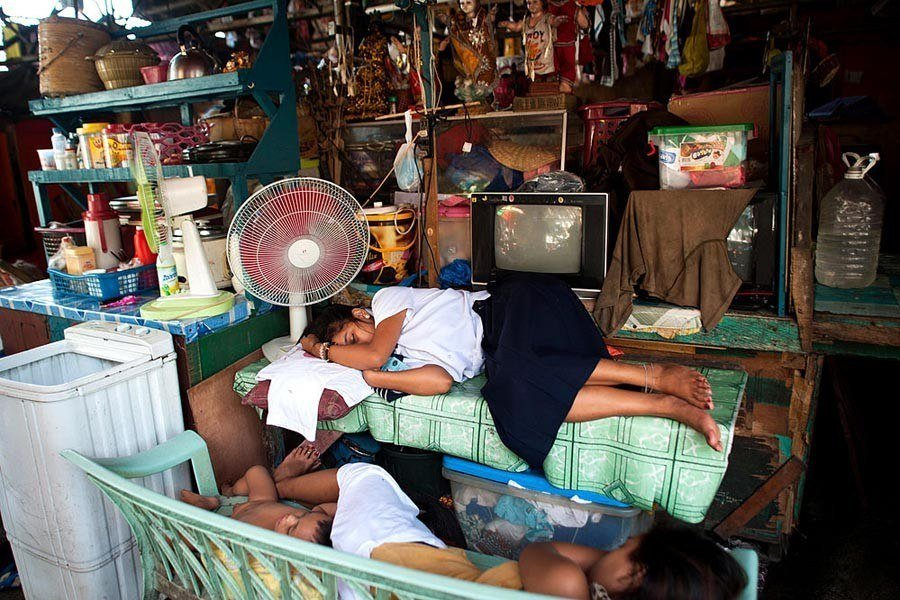 Shop Sleeping