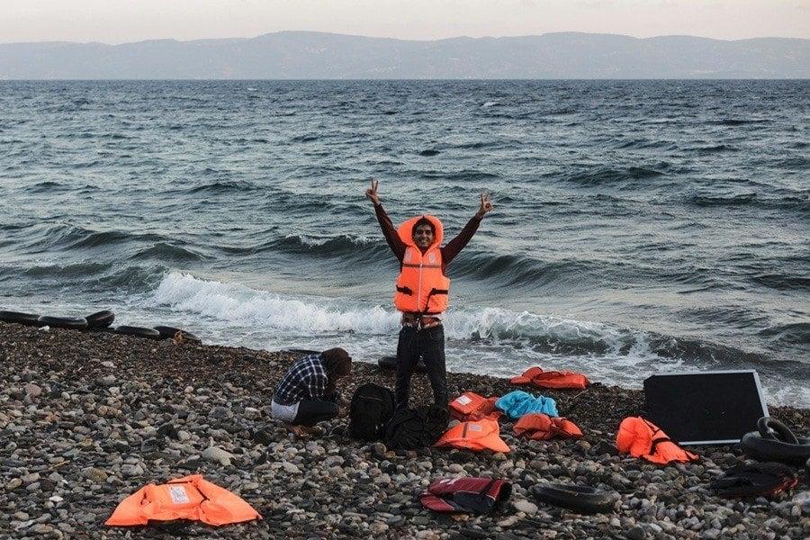 Syrian Refugee Crisis Beach