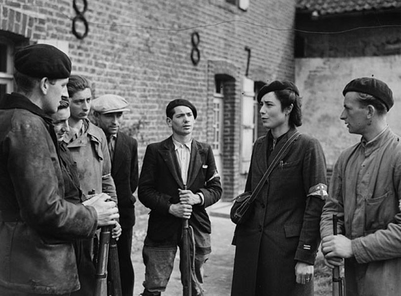 The French Resistance Photograph