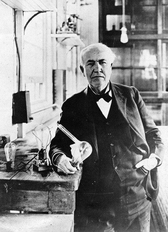 Thomas Edison Bulbs