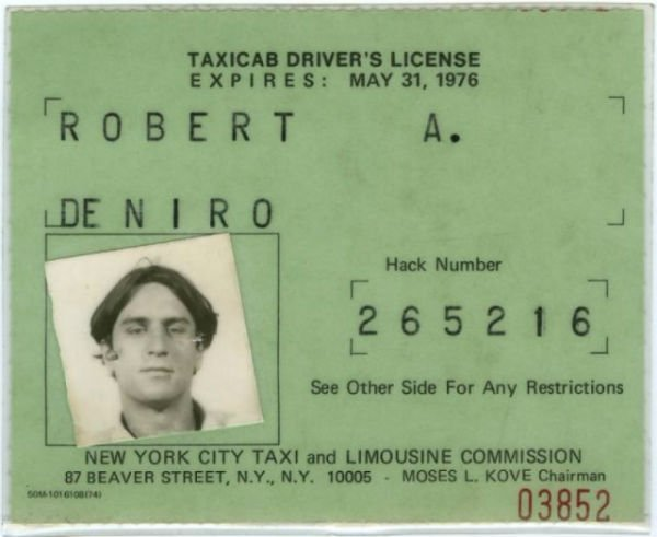 Vintage Drivers Licenses 2