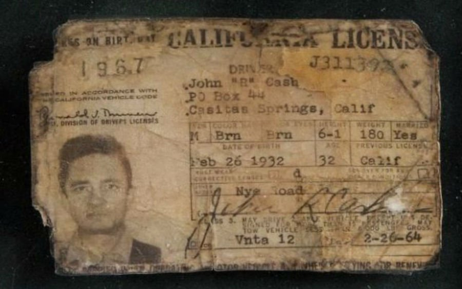 Vintage Drivers Licenses 3