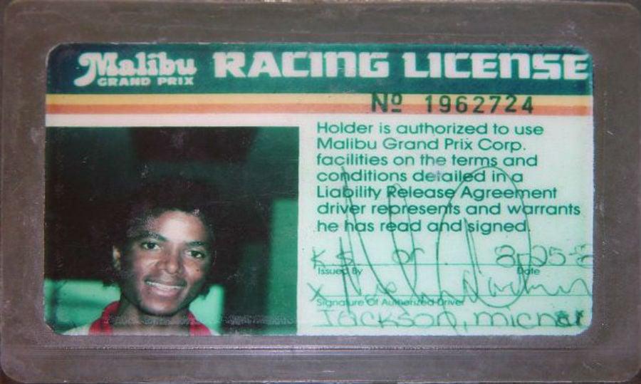 Vintage Drivers Licenses