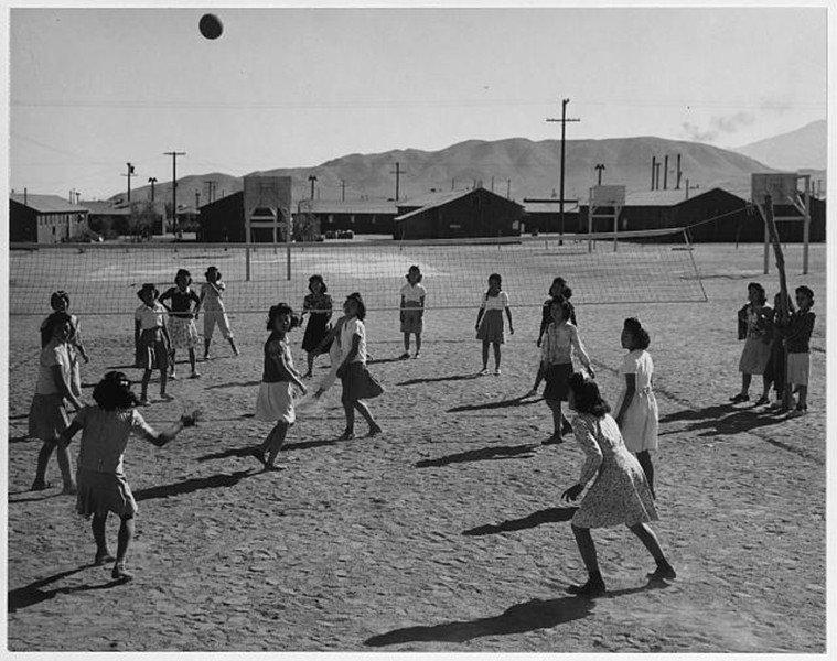 Volleyball Game Internment