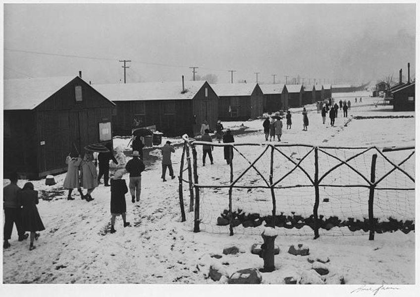 Winter Internment Camp