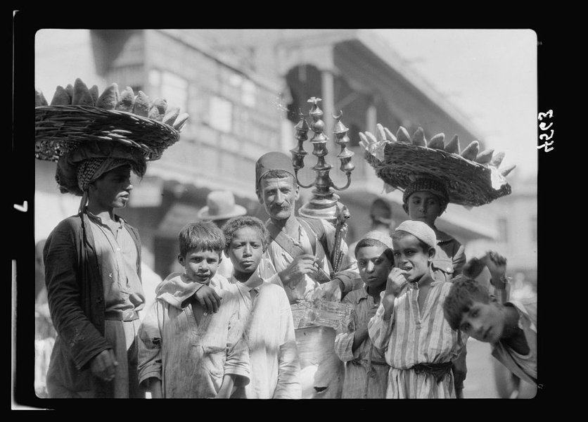 Women Baskets On Heads