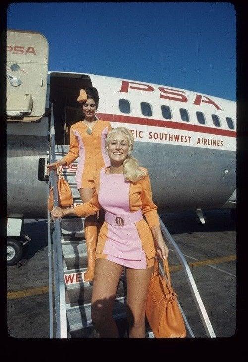 1960s Flight Attendants
