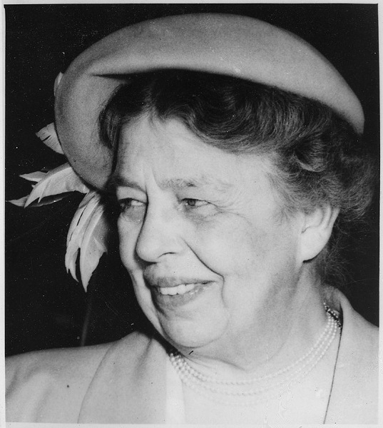 Eleanor Roosevelt On Getting Strength And Courage
