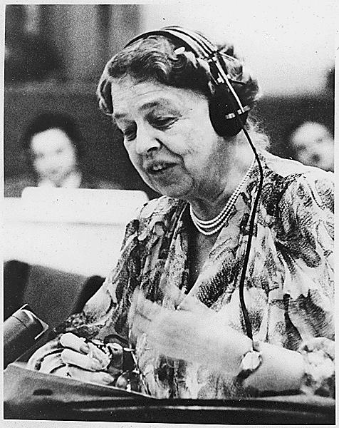 Eleanor Roosevelt Un 1947