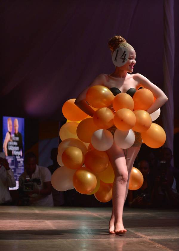 Albino Beauty Pageant Balloons