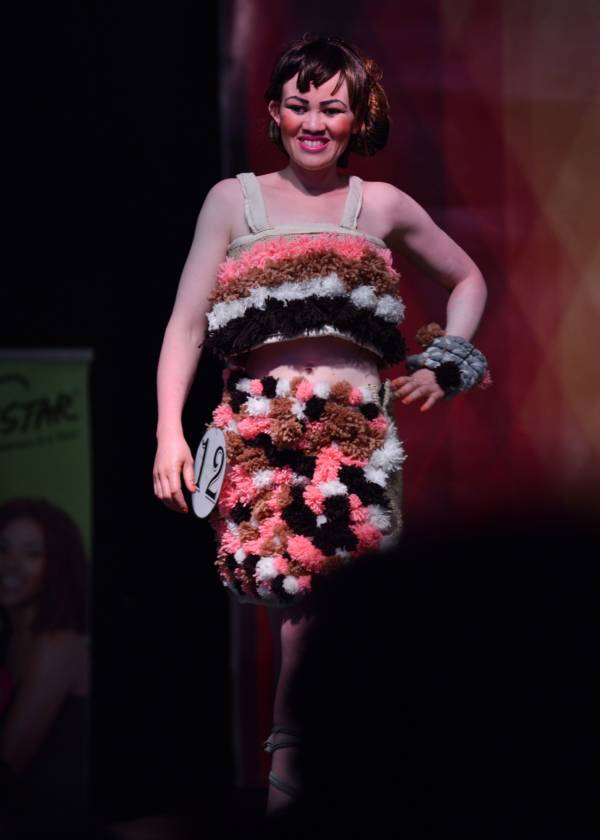 Albino Beauty Pageant Fuzzy