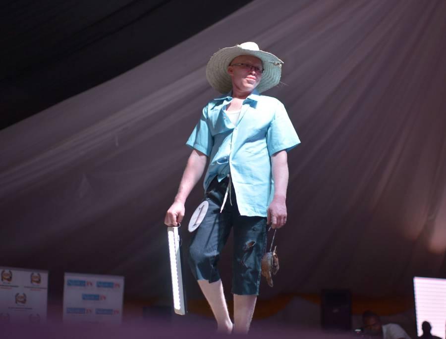 Albino Beauty Pageant Hat