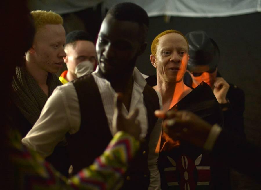 Albino Beauty Pageant Vest