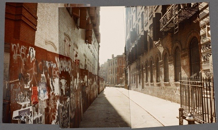 Alley Empty Street