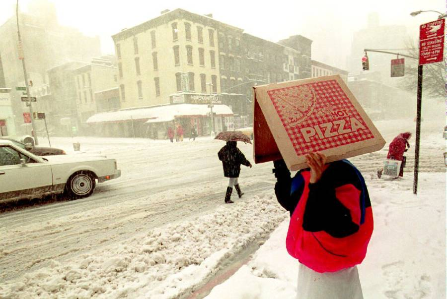 Blizzard Pizza Box