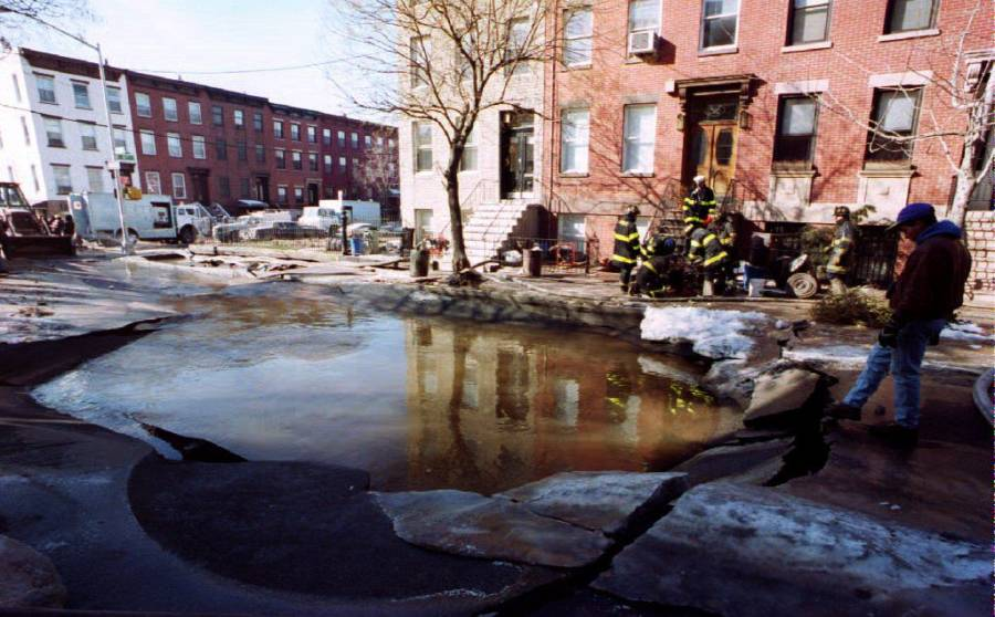 Brooklyn Sinkhole