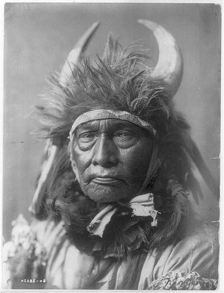 Bull Chief Apsaroke Portrait