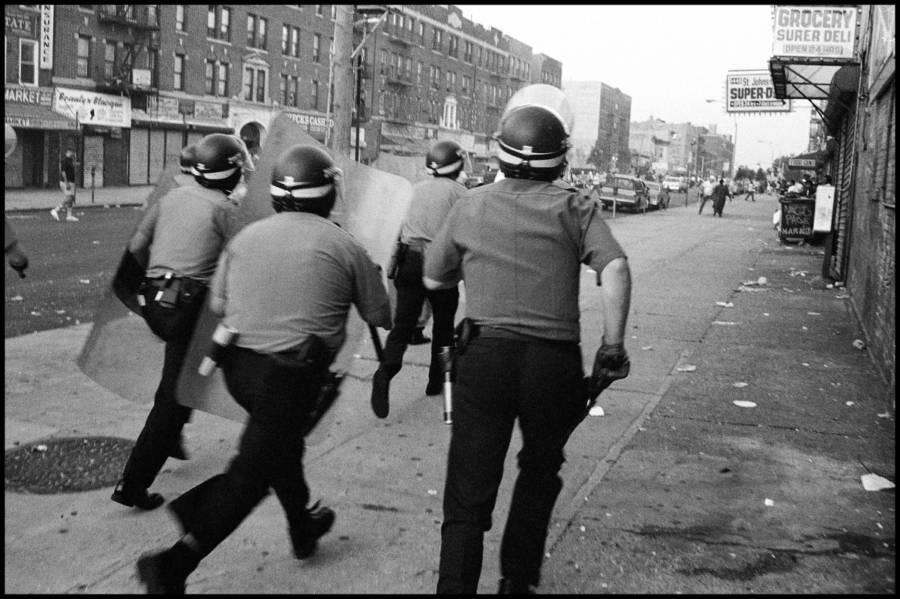 Cops Running