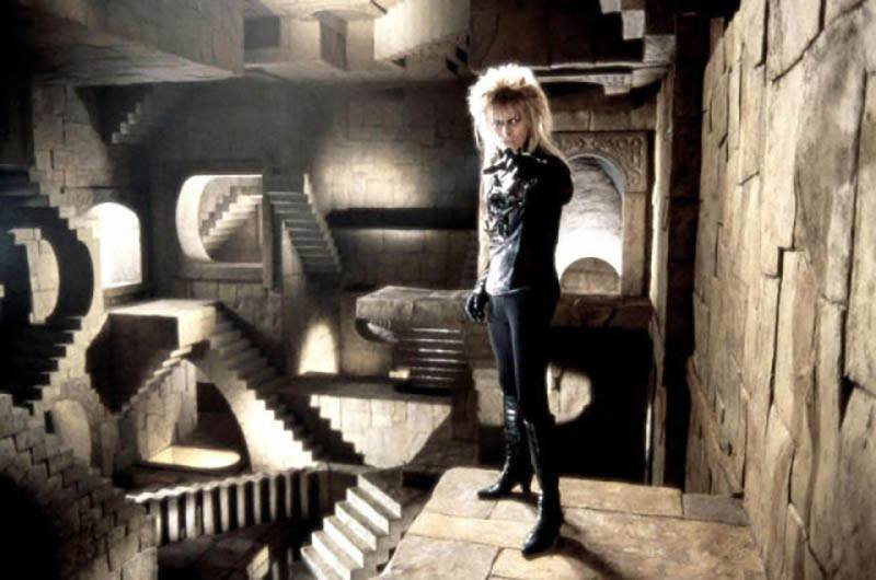David Bowie Iconic Costumes Stairs