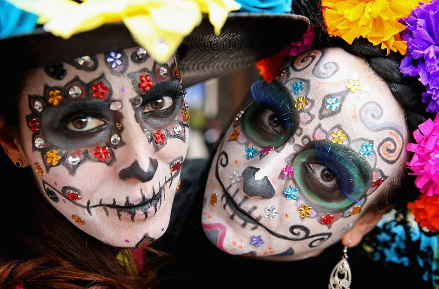 Day Of The Dead Facepaint