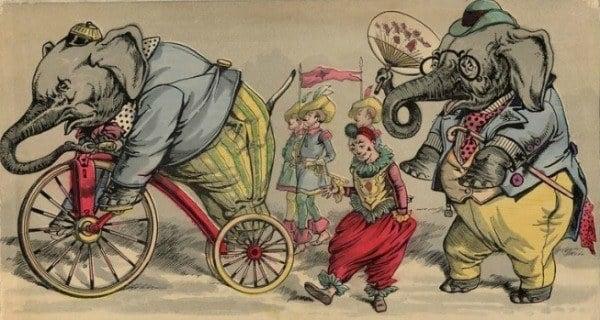 Circus Elephants Murderous Mary