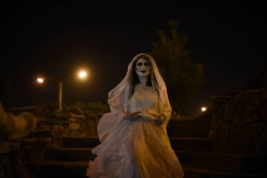 El Dia Muertos Actor Costume