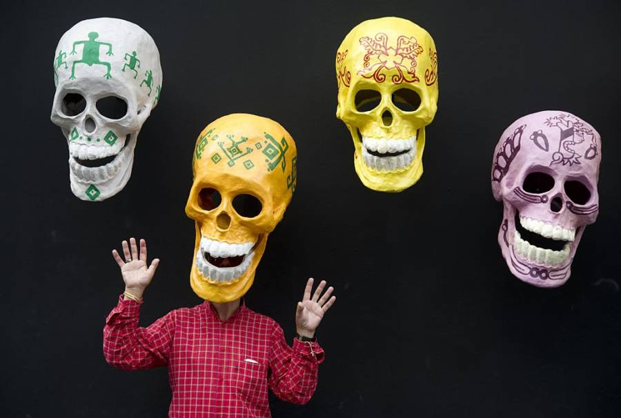 Masks For Day Of The Dead