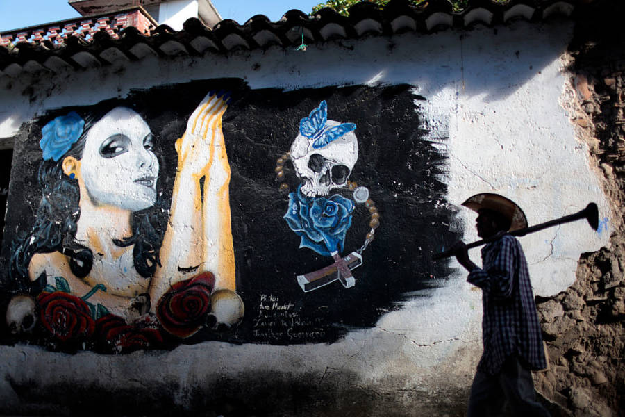 Mural For All Souls' Day