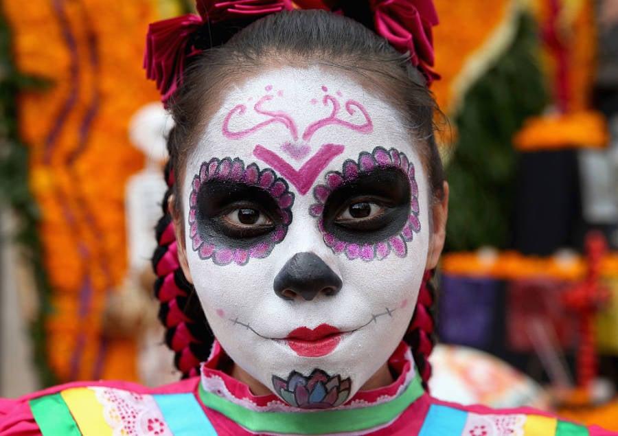 El Dia Muertos Face Eyes