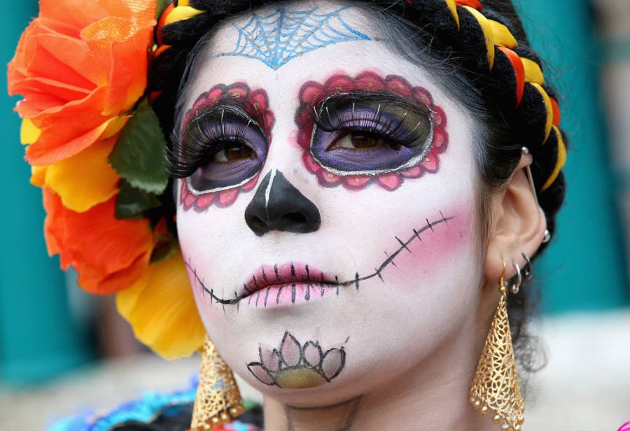 Day Of The Dead Costumes Picture