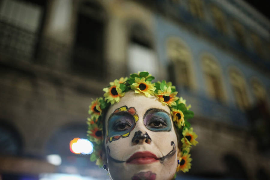 Make Up For Day Of The Dead Party