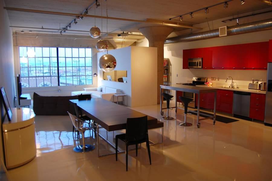 Factory Loft Kitchen