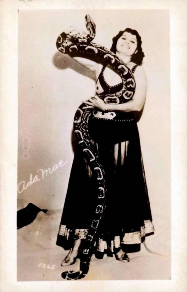 Female Snake Charmer