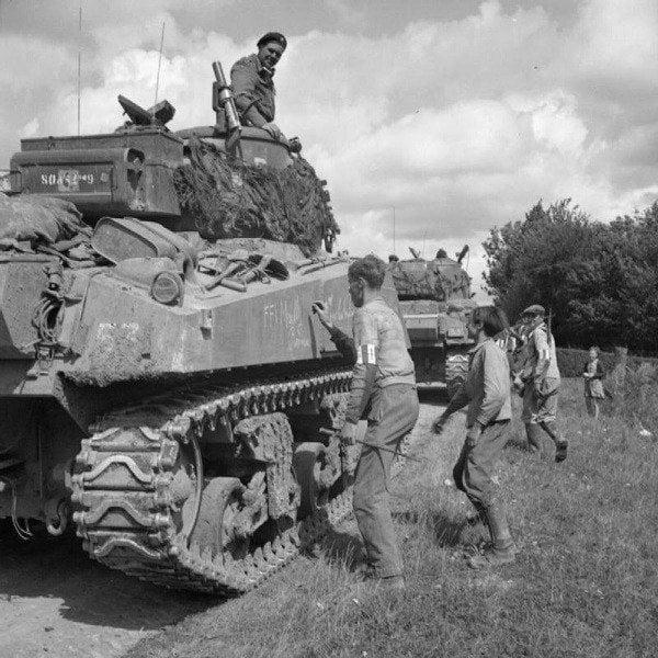 French Resistance Sherman Tank