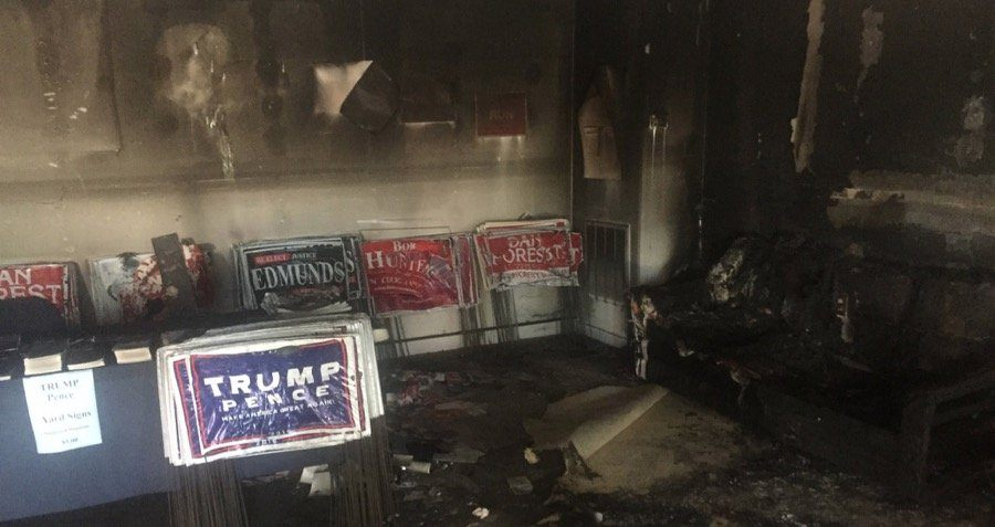 Gop Firebombed North Carolina