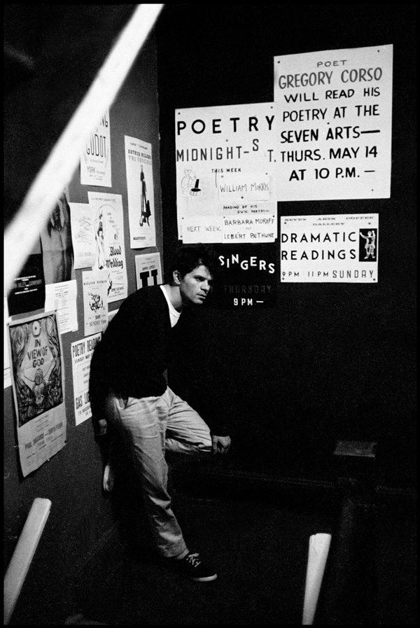 Gregory Corso Poetry Reading