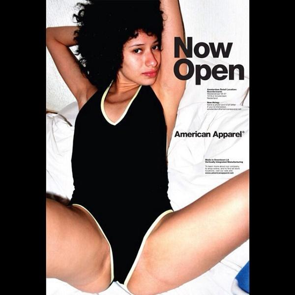 Grossly Sexualized American Apparel Ad