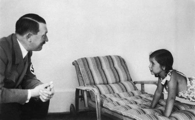 Hitler And Helga Goebbels 12