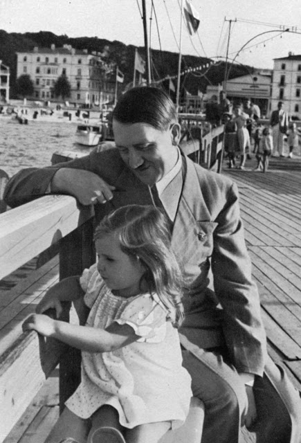 Hitler And Helga Goebbels 3